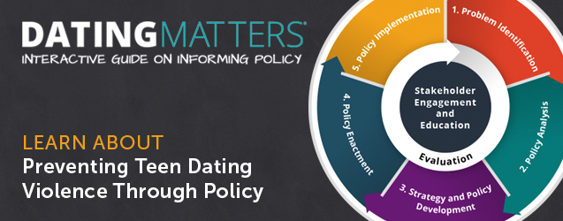 Slider: Dating Matters Policy
